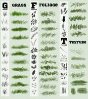 Photoshop Foliage Brushes 2016 by SarahScala