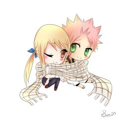 Nalu Chibi by Darth-Brick