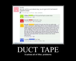 Duct tape solves everything... by Stargirl806