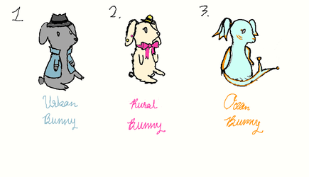Reliable Rabbits {OPEN 3/3} by TheCourageousCat