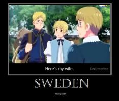 SWEDEN by xXHadessaXx