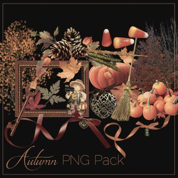 Autumn PNG Pack #1 by xCupiiCakex