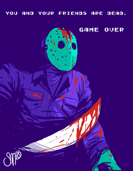 Friday the 13th NES by SGTMADNESS