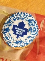 Tim Hortons: Toronto Maple Leafs Donut by thatonesmurfX103-9