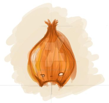 Onion-monster by ConejitoPerverso