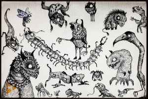 Doodle Page by Rednon
