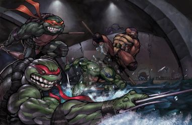 TMNT ASSEMBLE by Kandoken
