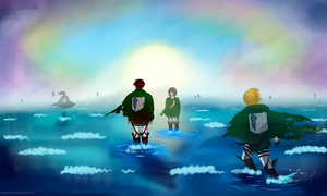All Scouts Go to Heaven by artistYah