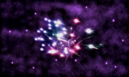 Colorful Firework by PoisonousPastels