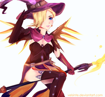 Witch Mercy by Velsinte