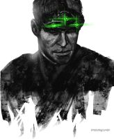 Sam Fisher by thesimplyLexi