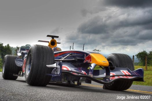 Red Bull Racing F1 - Clouds 1 by yoorch