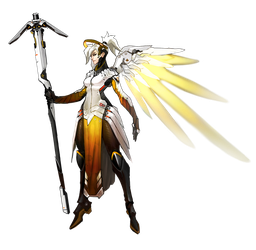 Mercy - Overwatch by PlanK-69