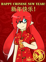 Happy Chinese New Year! by ReshiraDragon