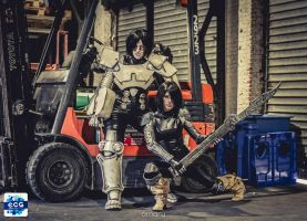 Gunnm - Battle angel alita cosplays by dinotiste