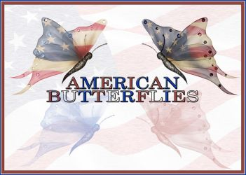 American Butterflies Photoshop Brushes + PNG's by ibjennyjenny
