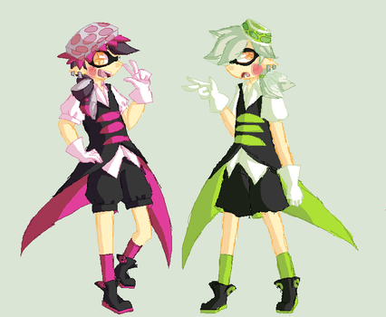 Hello Squid Brothers! by TysunamiWolf