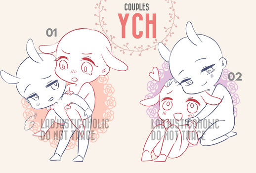 CHIBI YCH AUCTION | CLOSED by LabJusticaholic