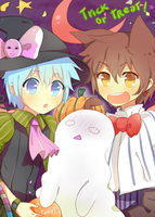 # Halloween - trick or treat # by hyuugalanna