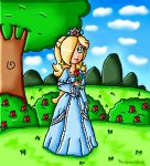 Rosalina on the woods by ninpeachlover