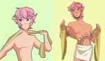 wow u finally gave him nipples // yeah i know shh by Looji