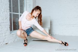 Long Lovely Leg Extension with Tanya - LE by LegsEmporium