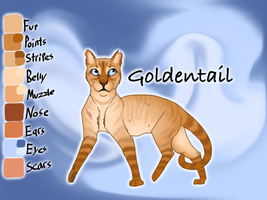 Goldentail of SkyClan - Sasha's Calling by Jayie-The-Hufflepuff