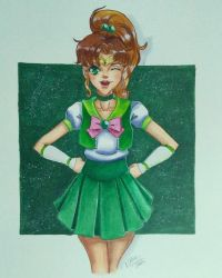 Sailor Jupiter by matthyko