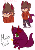 Monster tord doodles by Damian-Fluffy-Doge