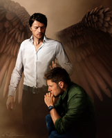 Angels are watching over you by Lillilolita