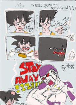Oh noes, Goku. Not again D: by The-Frieza-Fanclub