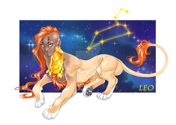 Mythological Creature Zodiac - LEO by ConnyChiwa