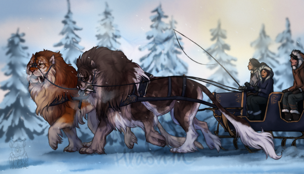 Through Ice and Snow by Hlaorith