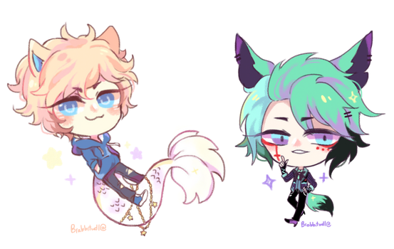 Chibi comm batch~ by Brabbitwdl
