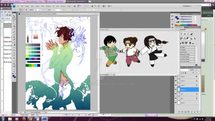 11272011 Current WIPs by kimechan