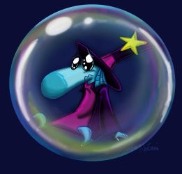 Magician Bubble by Zoemy