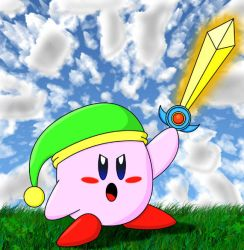 Sword Kirby YAY by BPMdotEXE