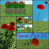 [MMD] Flower Pack DL by OniMau619
