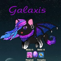 For the Castle Cats: Galaxis by Keeka-Snake