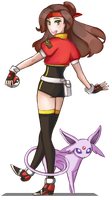 Pokemon ranger by Kofwea