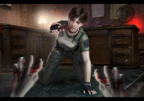 The survivor Rebecca Chambers by DemonLeon3D
