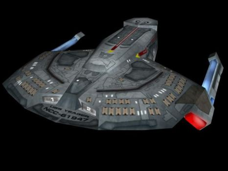 U.S.S. Yeager by blackstoneca
