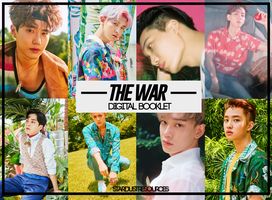 EXO THE WAR PHOTO PACK by stardustresources