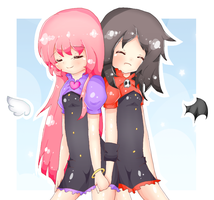 .: Giftie for Sofu and Klame :. by RedHoozuki