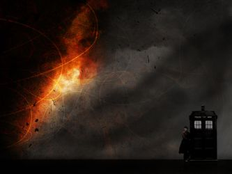 Tenth Doctor Wallpaper 2 by glarbinator