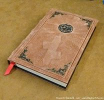 A book grimoire for a story that never Ends by RaptorArts