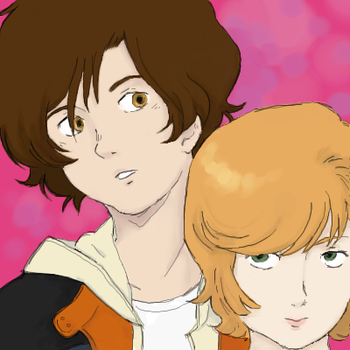 audrey and banagher by childings