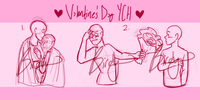 Ych Valentines Day Couples Closed By Susukaspirit Drawing