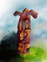 Totem - 2007 Game Concept Art by merbel