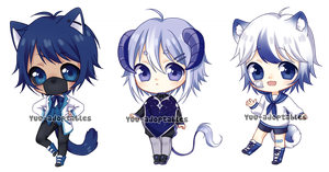 OPEN Blue Adopts #26 by Yuu-adoptables